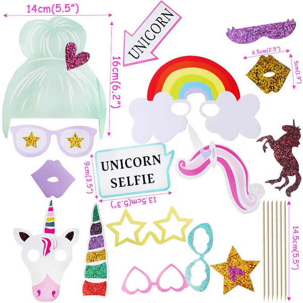 WEIGAO Unicorn Party Decor Birthday Party Decorations Kids Unicorn Theme Paper Hat Napkins Plate Girl Happy Birthday Gifts Sets