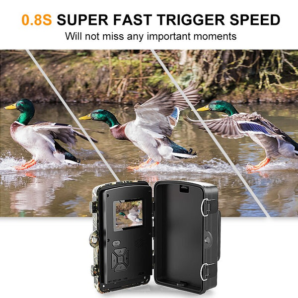 12MP 1080P Trail Hunting Camera Wildcamera Wild Surveillance 2''  TFT Night Vision Wildlife Scouting Cameras Photo Traps Track