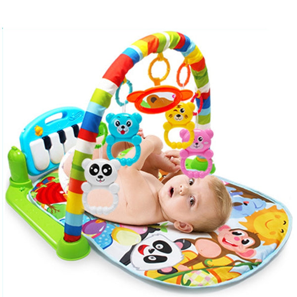 New Baby Music Rack Play Mat Kid Rug Puzzle Carpet Piano Keyboard Infant Playmat Early Education Gym Crawling Game Pad Toy