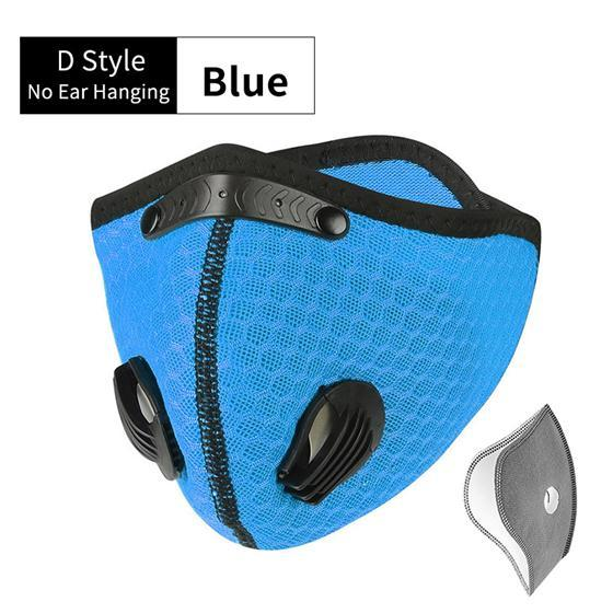 WEST BIKING Sport Face Mask Activated Carbon Filter Dust Mask PM 2.5 Anti-Pollution Running Training MTB Road Bike Cycling Mask