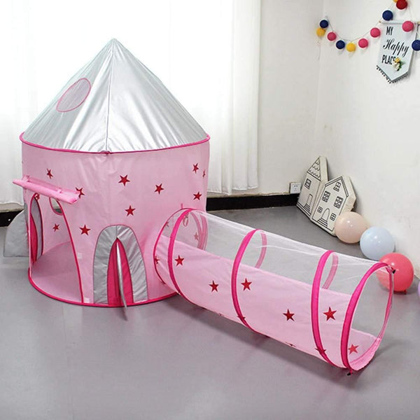 3 in 1 Outdoor Foldable Tents Ball Pool Kids Children Ball Pit Indoor Play Tent Game House Ocean Pool Tunnel Toy Birthday Gift