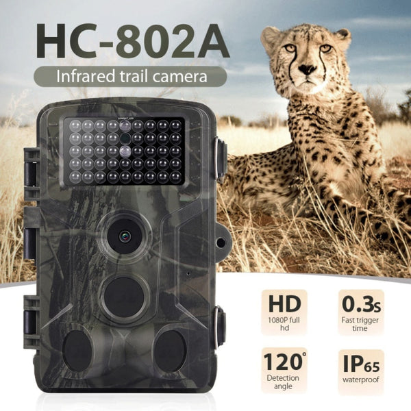 HC802A 16MP 1080P Wildlife Trail Camera Photo Trap Infrared Hunting Cameras HC802A Wireless Surveillance Tracking Camera