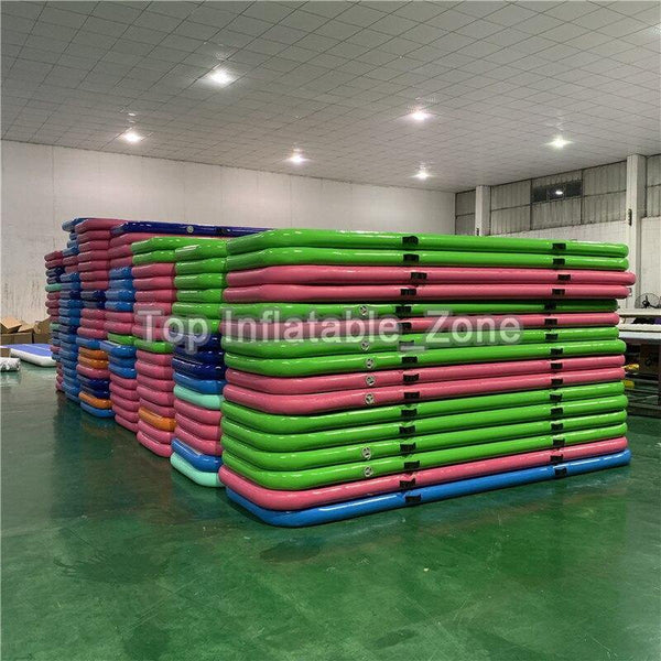 Inflatable Tumbling Mat Gym tranning mattress Airtrack Gymnastics Mat 5m 4m 3m yoga mat Olympics sports flip Air track Floor