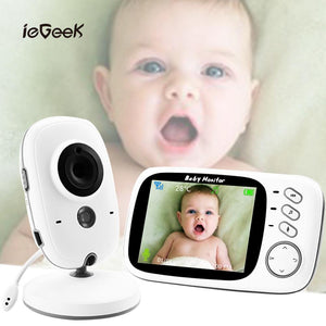 VB603 Wireless Baby Monitor with 3.2 inch LCD Night Vision Security Temperature Camera Video Color Surveillance Security Camera