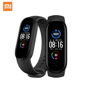 2020 Xiaomi Mi Band 5 Smart Bracelet 1:1 large AMOLED Screen Heart Rate Fitness Traker Bluetooth 5.0 Sport Waterproof band 5