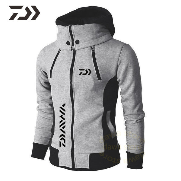 2020 for Fishing jacket Warm Hooded Autumn Winter Fishing clothes Outdoor Sport Fleece coat Hiking Fishing shirt