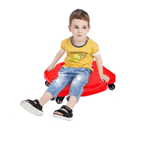 Children Kids Scooter Skateboard 4 Wheel Balance Toy Indoor Outdoor Sport Games Sensory Toys for Special Needs ADHD Autism