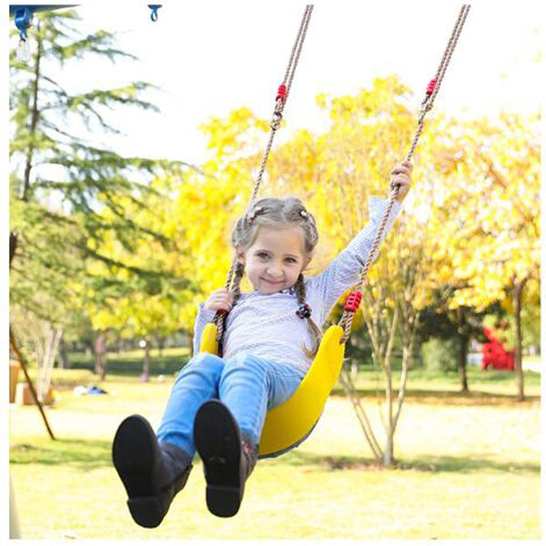 Go Swing Kids Hanging Chair Playground Outdoor Autismo Sensorial Sensory Play For Children Garden Swing Seat