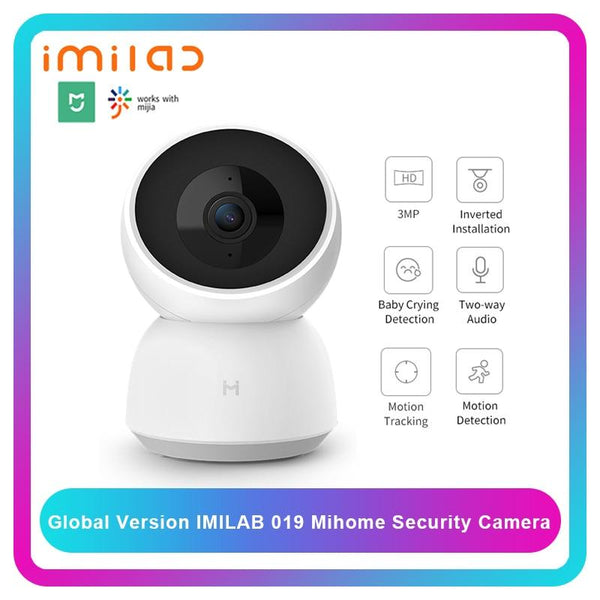 Global Version IMILAB Mijia IP Camera 19E Mi Home App WiFi Security CCTV HD 1080P Surveillance Baby Monitor H.265
