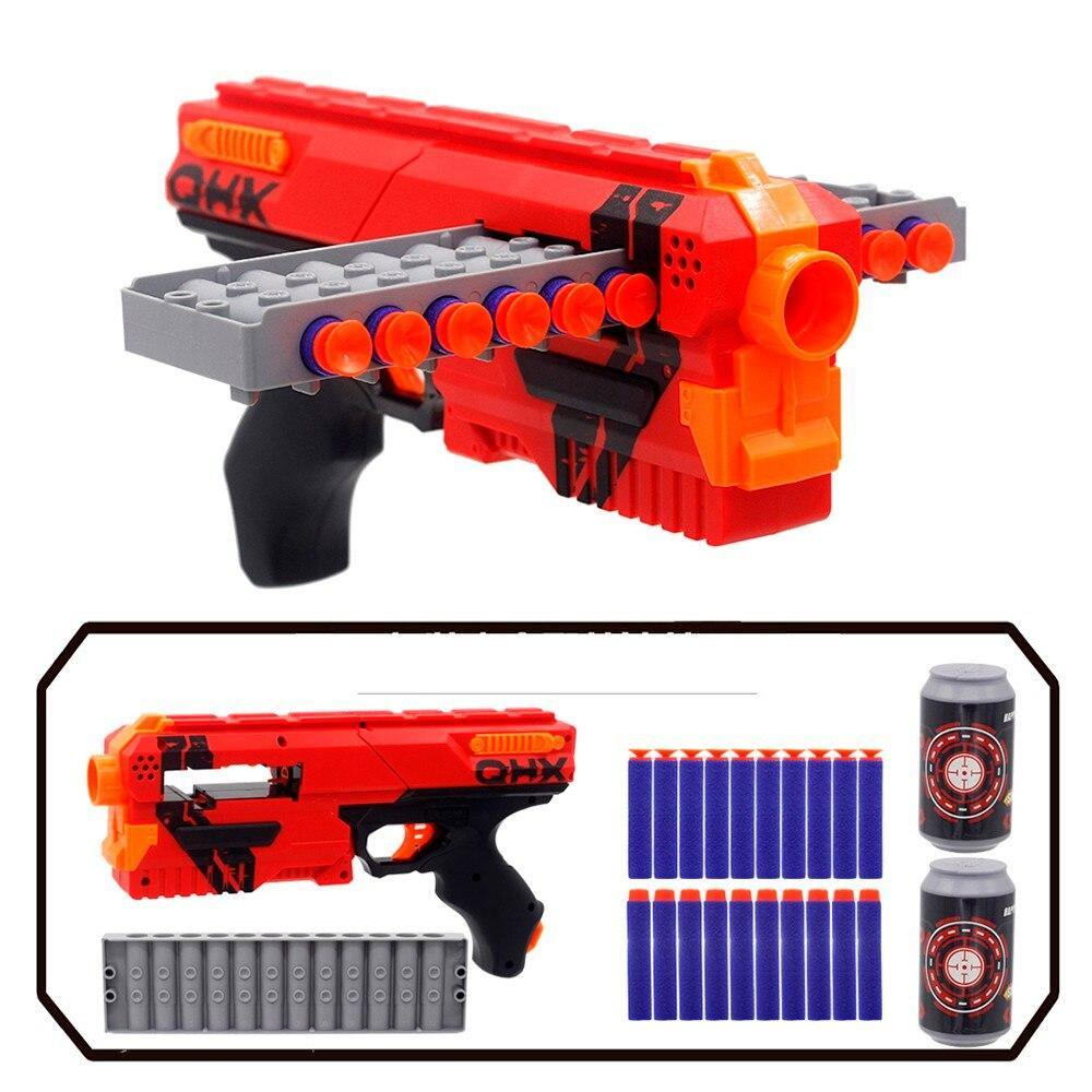 2020 New Arrival Manual Soft Bullet Toy Gun Suit for Nerf Bullets Toy Pistol Dart Blaster Outdoor Toys for Kids