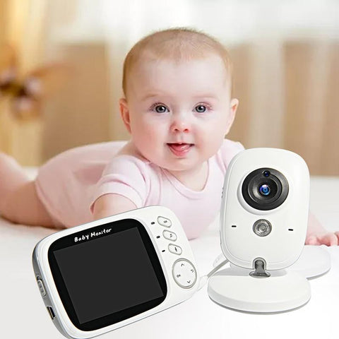 Baby Monitor VB603 Wireless Video Color with 3.2Inches LCD 2 Way Audio Talk Night Vision Surveillance Security Camera Babysitter