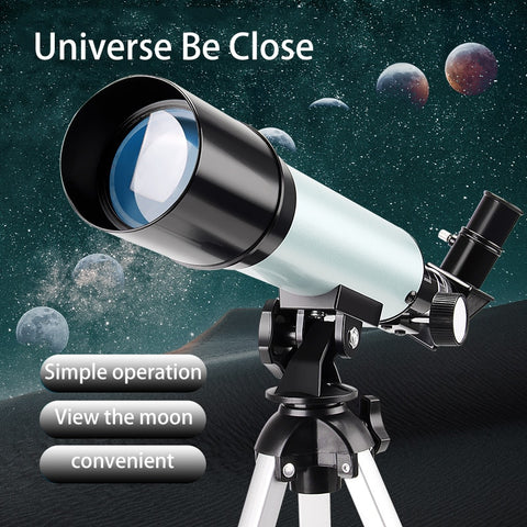 Professional Astronomical Telescope Monocular Light Portable HD FMC Gifts for Children Apply Moon Space Planet Observation