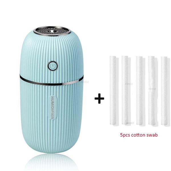 M Humidifier 300ML Ultrasonic USB Aroma Essential Oil Diffuser Romantic Color Night Lamp Mist Maker Humidificador Portable