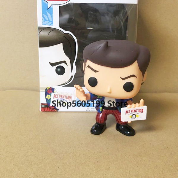 ACE VENTURA: Pet Detective  #32 POP with box Vinyl Action Figures PVC Collection figure Toys For birthday Gifts