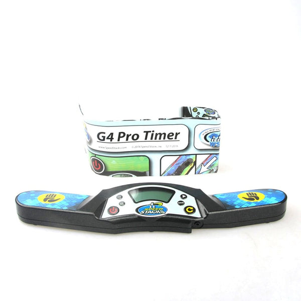 G4 Pro Timer Professional Timer Clock Machine for Speed Puzzle Cube Accessory for Competition Game Flying Stack Pack Mat
