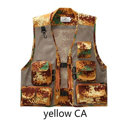 Ultralight Fly Men Fishing Vest Quick-Drying Mesh Waistcoat Tactical Military Camping Vest Outdoor Waistcoats with Multi Pocket