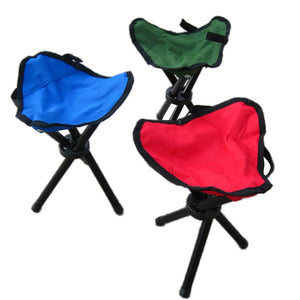 Outdoor Foldable Chair Tripod Triangular Folding Fishing Chairs for Fishing Traveling Camping Portable Fishing Mate Fold Chair