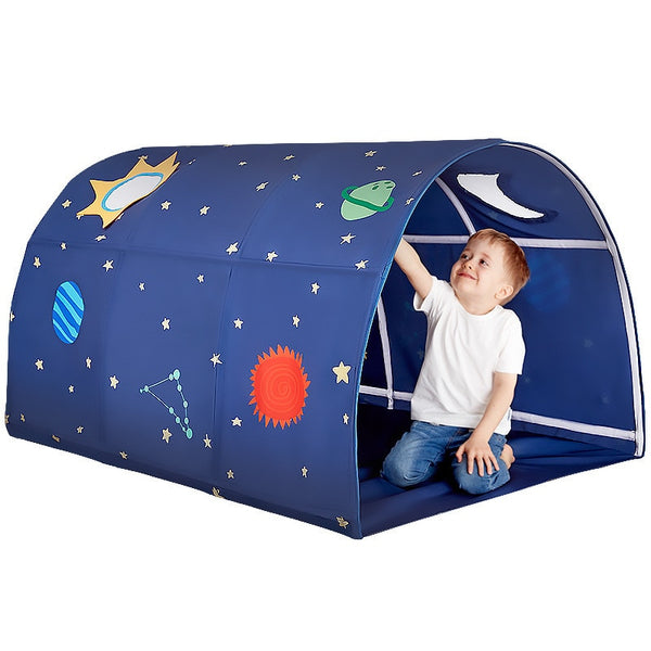 Children's Playhouse Folding Small House Room Portable Play Tent Bed Decoration Crawling Tunnel Toy Ball Pool For Children Kids