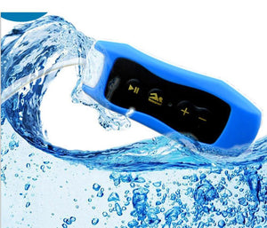 003 Waterproof IPX8 Clip MP3 Player FM Radio Stereo Sound 4G/8G Swimming Diving Surfing Cycling Sport Music Player
