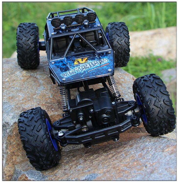 1:12 1:16 1:20 RC Car 4WD 4x4 2.4G Bigfoot Remote Control Model Truck Off-Road Vehicle climbing jeeps toys Boys Kids Gift Buggy