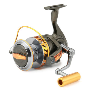 High Powerd 15KG Max Drag Spinning Reel 13 BBs 5.2:1 Spinning Fishing Reel Left/Right Interchangeable Boat Sea Fishing Reels (as picture 13)