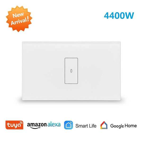 Tuya Smart Life WiFi Boiler Water Heater Switch NEW 4400W, App Timer Schedule ON OFF, Voice Control Google Home , Alexa Echo Dot
