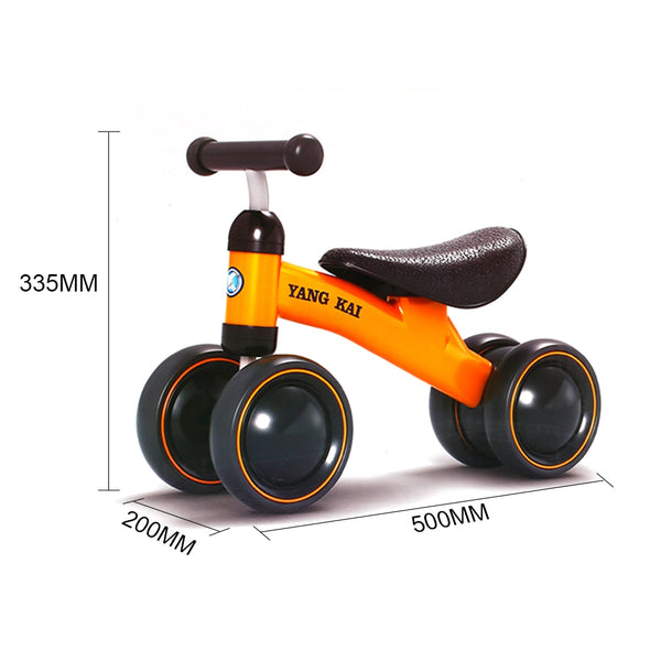 Hot Children Balance Bikes Scooter Baby Walker Infant 1-3years Scooter No Foot Pedal Driving Bike Gift for Infant Three Wheel