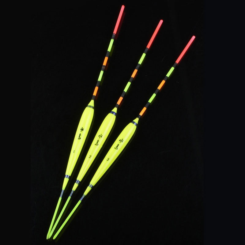 WLPFISHING 3~4pcs/lot 2018 Brand New Fishing Float Superfine Workmanship Freshwater Suits For Small Fish Fishing Bobbers