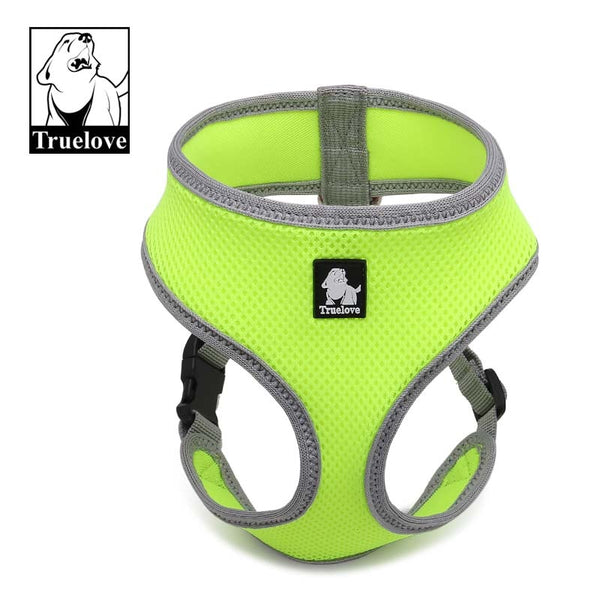 Truelove Puppy Cat Pet Dog Harness Breathable Mesh Nylon Dog Harness Strap Soft Walk Vest Collar For Small Medium Dog 8color