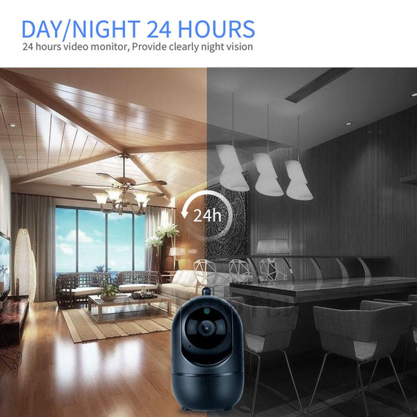 Home Security Baby Monitor Wifi Baby Monitor With Camera Night Vision Two Way Audio Video Nanny Baby Phone Camera 720P Wireless