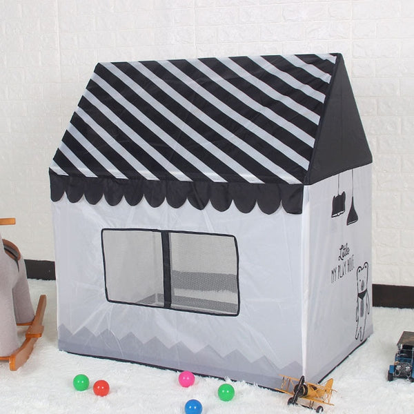 Children's play house princess folding castle house baby toy indoor small tent for baby gifts