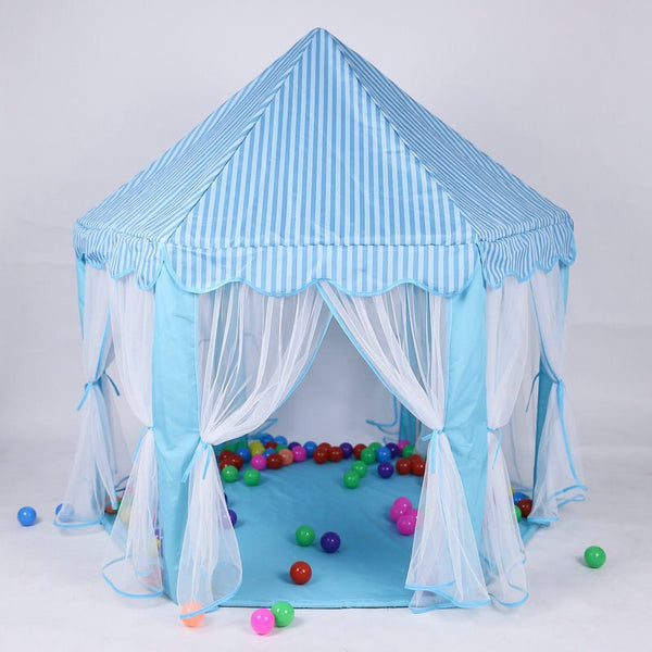 Bubles Wall Play Tent Portable Foldable Princess Folding Tent Children Castle Play House Kids Gifts Outdoor Toy Tents For Kid