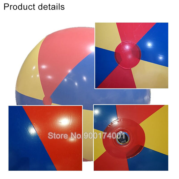 High Quality Giant 200cm Inflatable Beach Ball Sea Swimming Pool Water Toy Four-Color Beach Ball Beach Ball