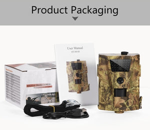 12MP 1080P Trail Hunting Camera  Wildcamera Wild Surveillance HT001B  Night Version  Wildlife Scouting Cameras Photo Traps Track (HT001B)