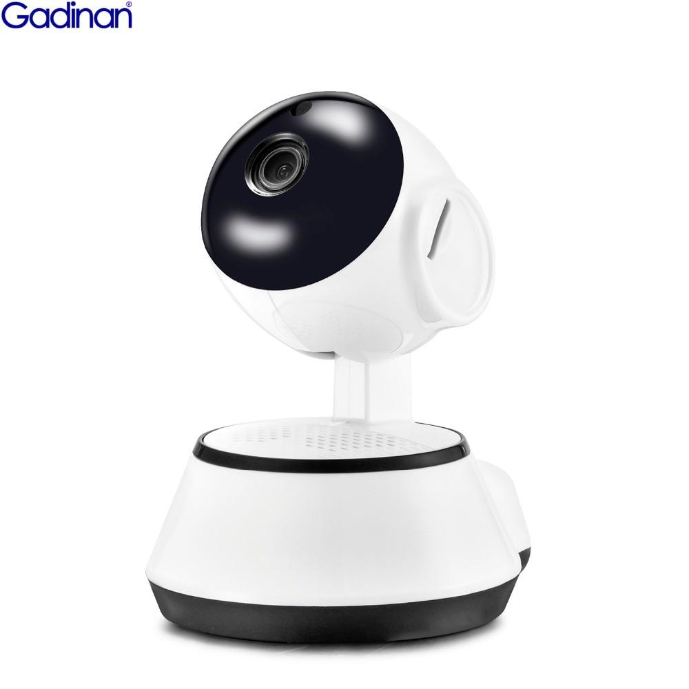 Gadinan CCTV 720P WiFi Mini Baby Monitor Wireless IP Camera PTZ P2P Surveillance Security Home Video Monitor Night Vision V380