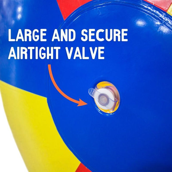 Inflatable giant beach ball Free Shipping 2m(78 inch) Giant Commercial PVC Rainbow Beach Ball Inflatable Beach Ball for sale