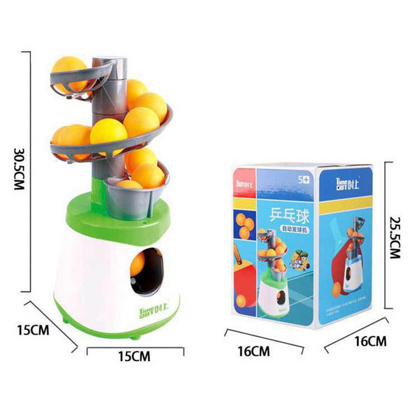 Table Tennis Exerciser Practice Children's Toys Practicing Ping Pong Ball Automatic Launcher Sports Training Equipment
