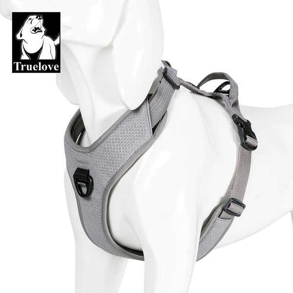 Truelove Dog Harness Reflective No Pull Small Medium Large Vest Quick Adjustbale Matching Leash Collar Training Running TLH6071