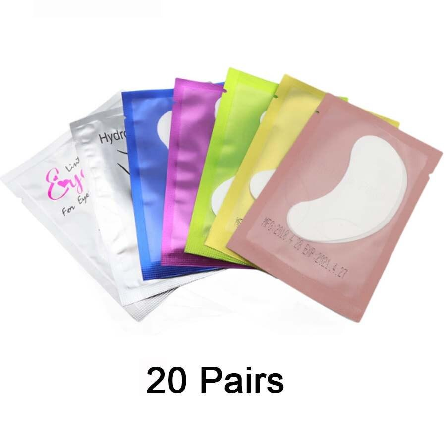 Eye Pads 50/100 Eyelash Under Eye Pads Lint Free Patches For Eyelash Extension Supplies Lashes Extension For Professionals Tools