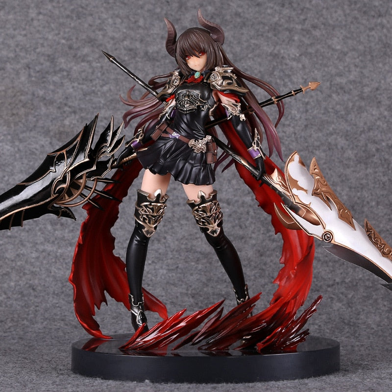 Rage of Bahamut GENESIS Devil Dark Dragon Knight 28cm Action Figure Anime Game Figurine Toy PVC Model Collection