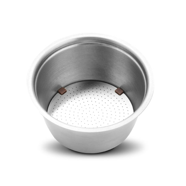 Stainless Metal Rusable Dolce Gusto fit for Nescafe with Filter uesed 200 time Coffee Ground Tamper Coffee Spoon Clipdummy