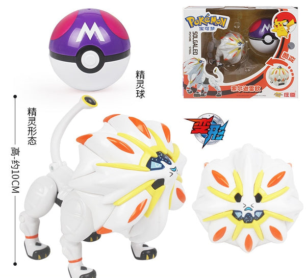 Original POKEMON Toy Pocket Monster Pikachu Action Figure Game Poké Ball Model Charmander Anime Figure Collect Toy For Kids Gift