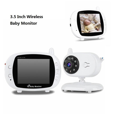 3.5 Inch Wireless Digital Video Baby Monitor Night Vision Security Camera Temperature Monitoring