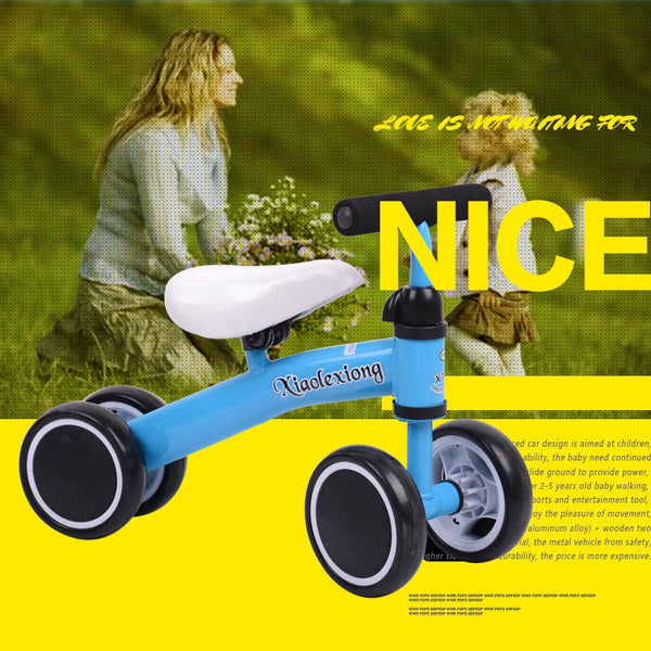 High-end children's Scooter car twisting and twisting car four-wheeled Suitable for 1-3 Young child Walker toy vehicle display