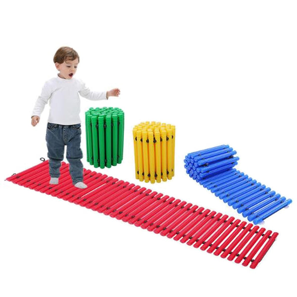 Balance Board Kids Indoor Games Sport Children Activity Tactile Sensory Toys Autism ADHD