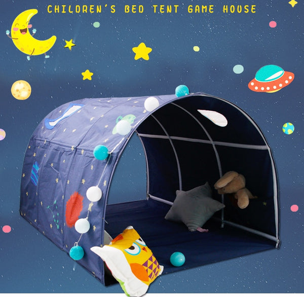 Portable children's Play House Playtent for kids folding small house room decoration tent Crawling Tunnel toy ball pool bed tent