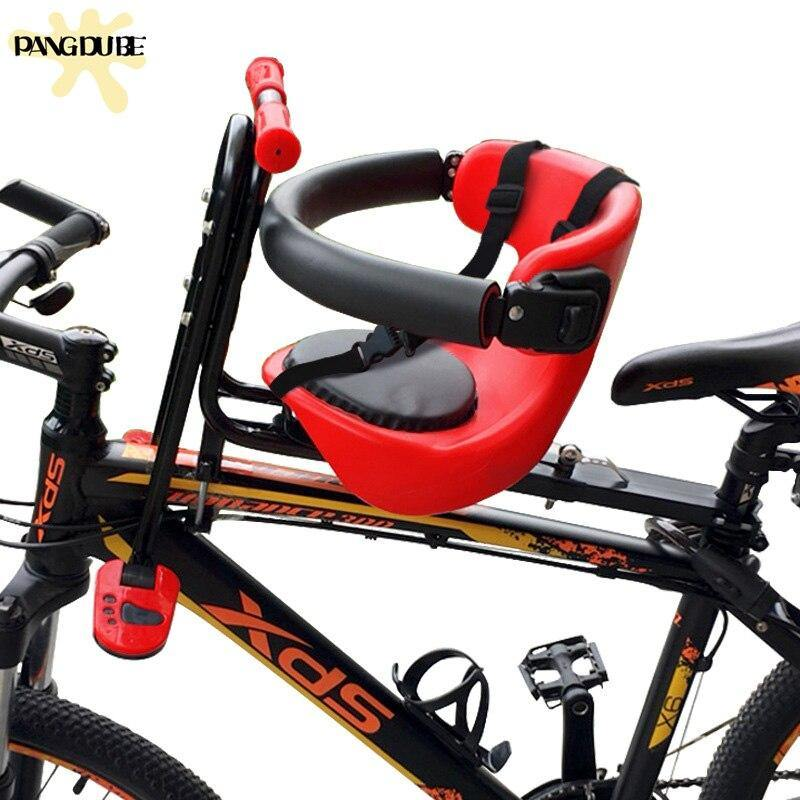 Mountain Bike Child Seat With Safety Belt Bicycle Baby Seat Bicycle Seat For Children 6 Months to 3 Years Old Kid Bike Seats