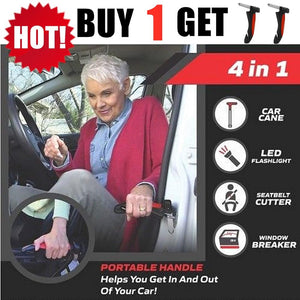 BUY 1 GET 2 Car SeatBelt Cutter Emergency Glass Breaker Autobar Support Cane Handle Aid Stand Grab Bar Door Support