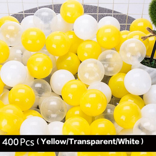 400Pcs/Lot Plastic Ocean Balls Kids Swim Pit Toy Outdoor Fun Dry Pool Wave Game Eco-Friendly Colorful Soft Ocean Sphere  5.5cm