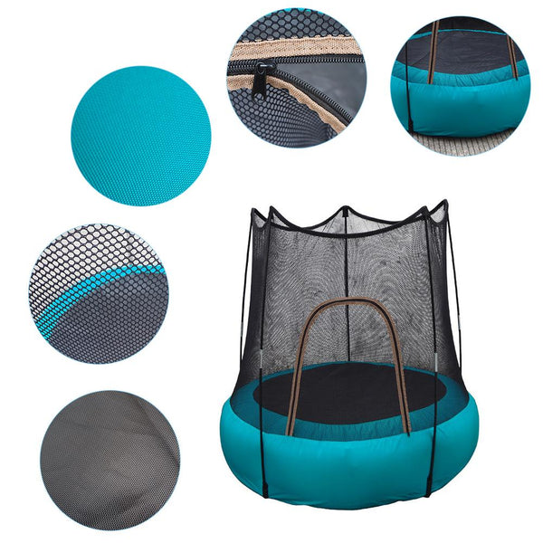 Children's Inflatable Trampoline Portable Foldable Safe Jumping Fun Toy For Indoor Outdoor Children's Play Trampoline